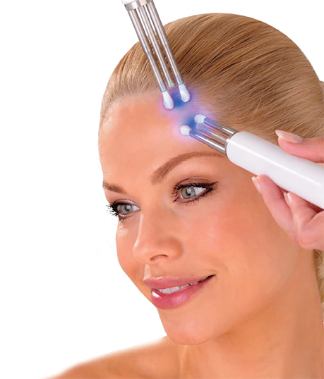 Lady having CACI Ultimate treatment