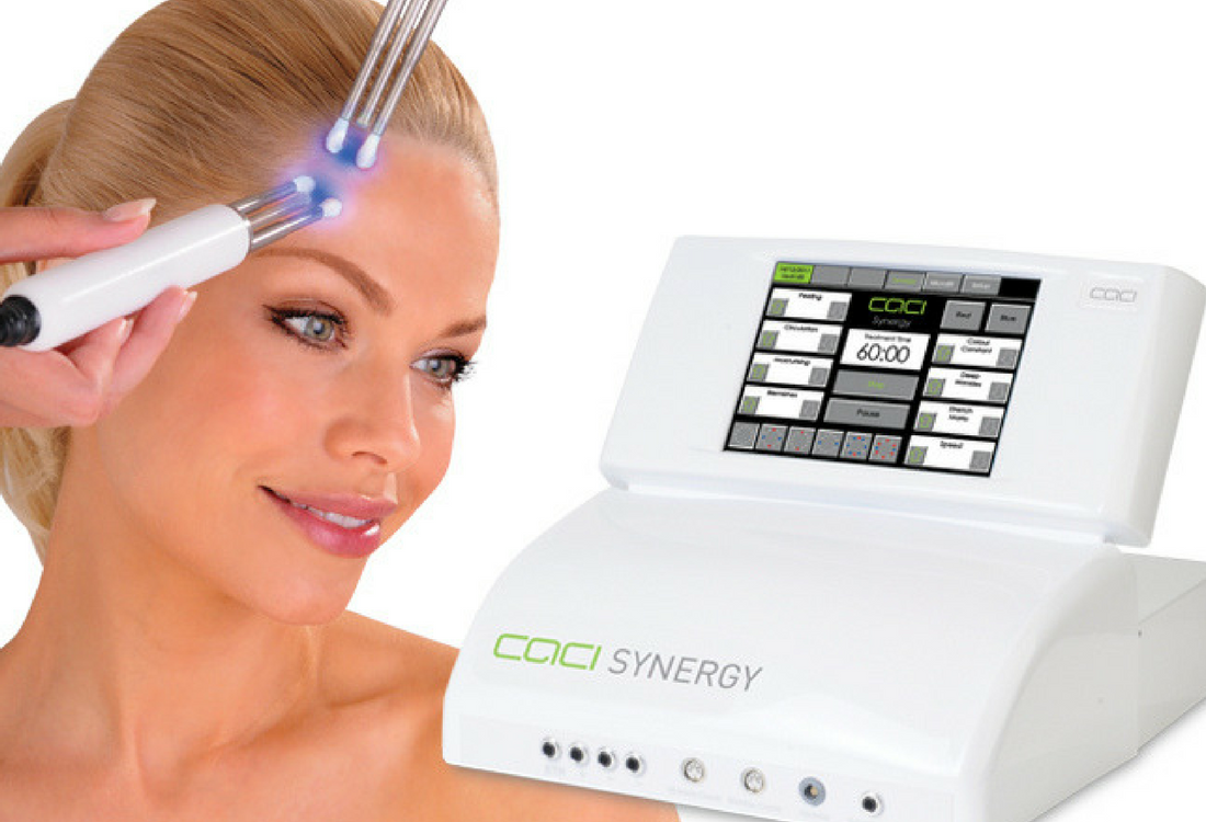 Lady having CACI Synergy Treatment
